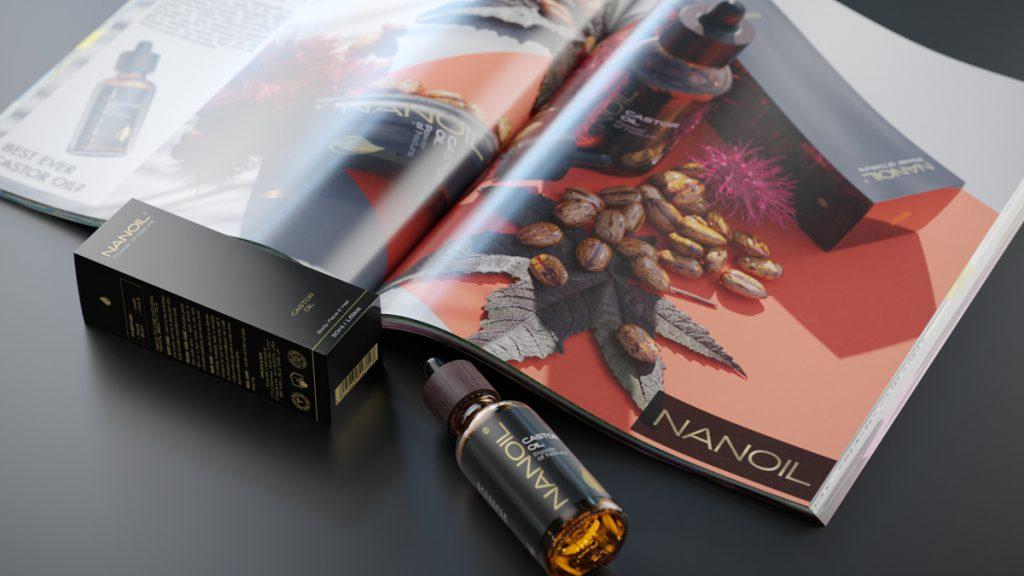 Nanoil Rizinusöl in der Hautpflege